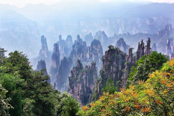 Zhangjiajie-Hunan-ChinaRoads