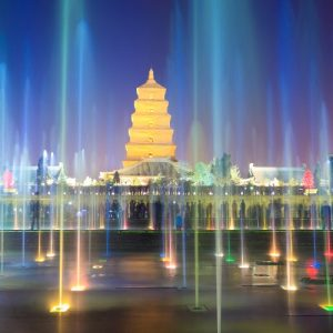 Big Wild Goose Pagoda (Dayan Ta) - 大雁塔