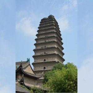 Small Wild Geese Pagoda (Xiaoyan Ta) - 小雁塔