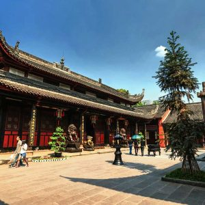 Wenshu Temple - 文殊院